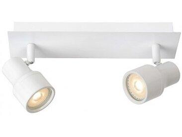 Spot salle de bain encastrable Sirene LED IP44 L28 cm - Blanc - Blanc