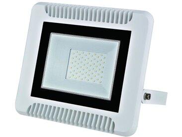 Projecteur LED 70W Extérieur IP65 Plat BLANC - Blanc Froid 6000K - 8000K