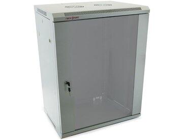 "RackMatic - Rack serveur 19"" 18U 600x450x900mm armoire murale blanc SOHORack RackMatic"