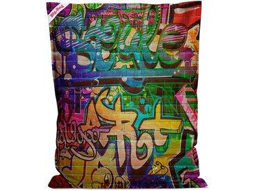 Coussin Géant The Big Bag Printed graffiti