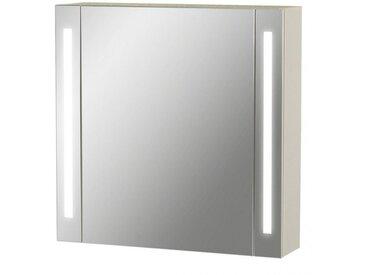 Armoire de toilette Led - Modèle La Contemporaine - 60 cm x 60 cm (HxL)