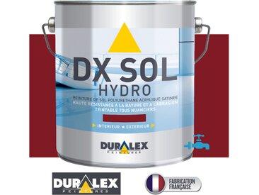 PEINTURE SOL polyur_thane 3 Litres- TRAFFIC IMPORTANT - DX SOL HYDRO - DURALEX - ROUGE TOMETTE - 3 Litres