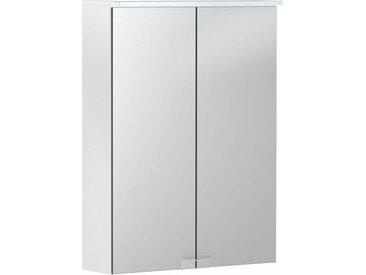 Geberit Armoire de toilette Geberit Option Basic avec éclairage, deux portes, largeur 50cm, 500257001 - 500.257.00.1