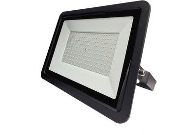 Silamp - Projecteur LED Extérieur 200W IP65 Noir - Blanc Neutre 4000K - 5500K