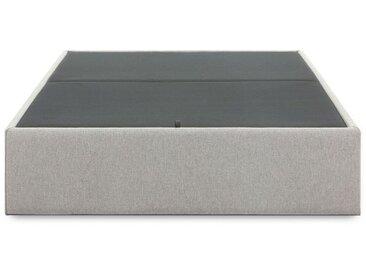 Sommier coffre Matter 90 x 190 cm gris