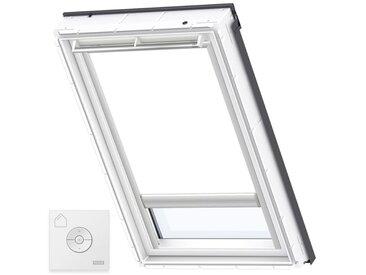VELUX Original Store Occultant à Énergie Solaire pour Fenêtres de Toit VELUX, S06, 606, 4, Blanc - Blanc
