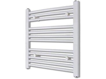 Radiateur sèche-serviettes incurvé 600 x 764 mm 300 W