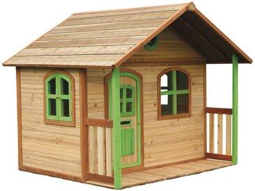 Milan Playhouse: Maisonnette pour enfants, fenêtres intégrées et bois très résistant