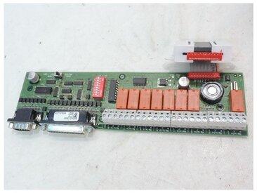 Carte option pour centrale d'alarme incendie type 1 ECS pour 8 relais boucle (RCT) sortie PC ou Modem et imprimante URA 319101