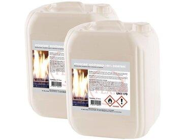 15 x 10 Litre Bioéthanol Evoluflam