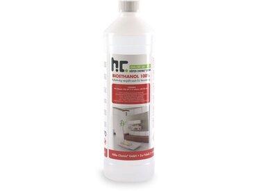 60 x 1 Litre Bioéthanol à 100% dénaturé en bouteilles de 1 l