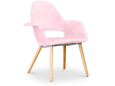 Chaise design scandinave Organic Eero Saarinen - Style - Rose