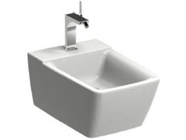 Geberit Xeno 2 bidet, sans trop-plein, mural, blanc avec KeraTect, 500501011 - 500.501.01.1