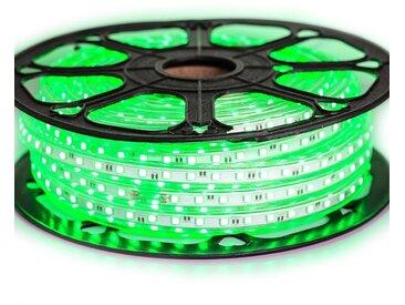 Ruban LED Professionnel 5050 60 LED/m de 25 ou 50 mètres Vert étanche (IP68) | Longueur: 25 mètres