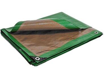 Bache Brise vue 250g/m² - 10 x 15 m - Brise vent - pare vue - bâches étanches