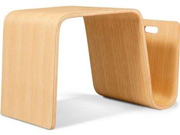 Table Basse Porte Magazines Aurica - Bois - Style Valentino Boretti Bois naturel