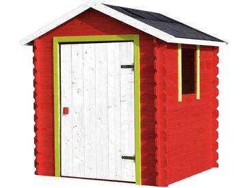Cabane en bois pour 3 enfants avec porte pleine - Lison