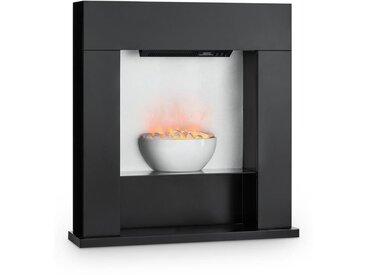 Klarstein Studio-8 Cheminée électrique flammes LED 2000W 40m² MDF noir