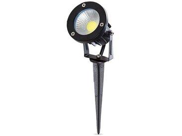 Projecteur LED Avec Enjeu Pour Les Jardins 9W 810Lm 50.000H   Blanc froid (SL-CPDC09-9W-CW)