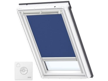 VELUX Original Store Occultant à Énergie Solaire pour Fenêtres de Toit VELUX, S06, 606, 4, Blue - Blue