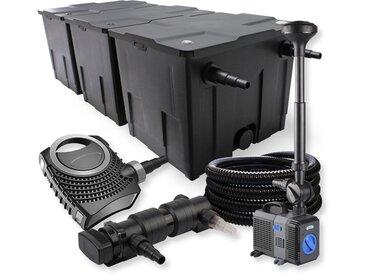 SunSun Kit de filtration de bassin 90000l 24W UVC Stérilisateur NEO8000 Pompe 70W Tuyau Fontaine