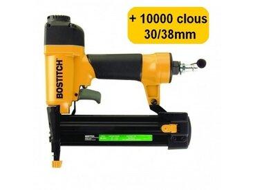 BOSTITCH SB-2IN1 + 10000 clous 30/40mm cloueuse agrafeuse de finition