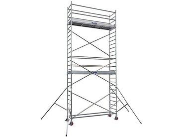 I. Echafaudage roulant alu - embase simple - longueur 3.07m