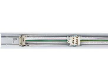 Rail Aluminium + Capot pour Barre Linéaire Trunking 600 mm Blanc