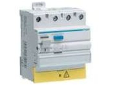 INTER DIFFERENTIEL TETRAPOLAIRE 63A 30MA TYPE AC BORNES DECALEES HAGER CDC863F