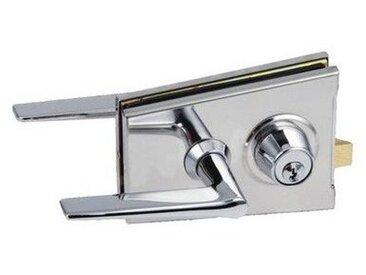 Serrure de milieu classique 1300 avec 5 clés Chromé mat AF018859+