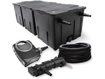 SunSun Kit de filtration de bassin 90000l 24W UVC 6. Stérilisateur NEO7000 50W Pompe et Tuyau