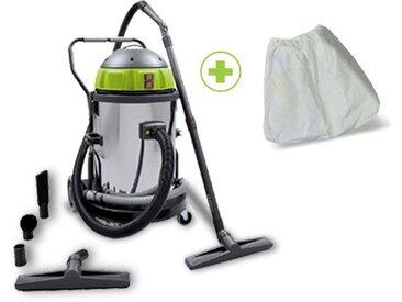 Aspirateur liquide et poussières - ys 2400/50 - Version : Avec Filtre conique et Filtre anti-colmatant - ICA SOTECO