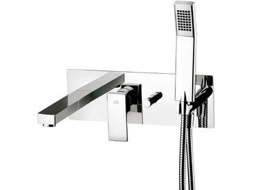 Elle Mitigeur de baignoire encastré avec corps + set de douche - PAFFONI (EL001CR)