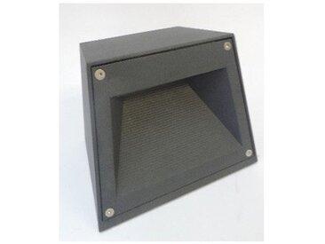 Borne sur sol iodure anthracite 230X180mm H170mm lampe G8.5 35W (non incl) 230V faisceau horizontal IK09 IP67 BEGA 77790