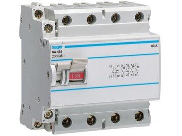 Interrupteur à déclenchement libre 4P 80A (SA480)