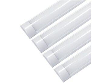 Réglette lumineuse LED 150cm 60W (Pack de 4) - Blanc Froid 6000K - 8000K