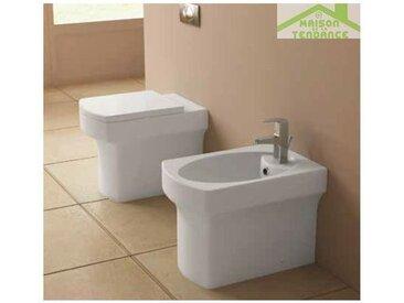 Cuvette WC à poser CUTIE avec abattant soft close 36x54x40 cm