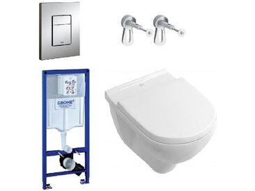 Villeroy & Boch Pack WC Targa + Rapid SL (SETSLVB)