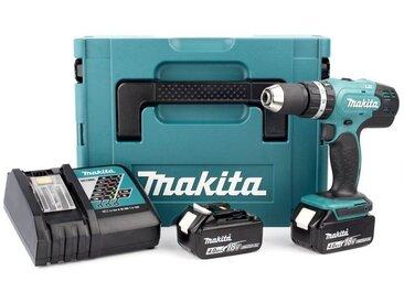 Makita DHP453RMJ Perceuse visseuse à percussion 18V Li-Ion (2x batterie 4.0Ah) dans Makpac