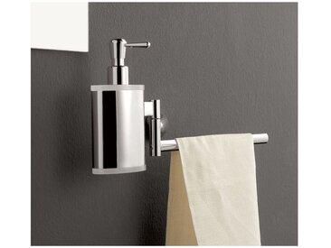 Distributeur de savon avec porte-serviettes TL.Bath Kor 5528DX 5528SX | Droit - BLEU