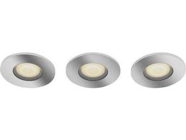 Plafonnier de salle de bain LED Philips Lighting Adore 3417611P6 GU10 Puissance: 15 W blanc chaud, blanc neutre, bla