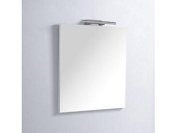 Miroir de salle de bain Rectangle - 60x80 cm - Lampe LED - Classic Scandinave 60