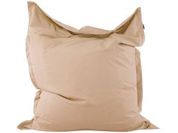 Pouf poire 140 x 180 cm couleur sable