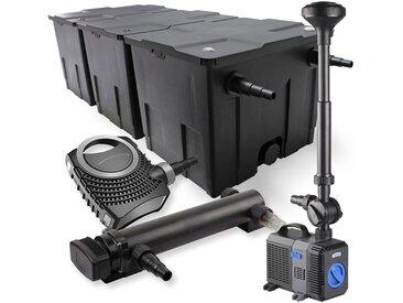 SunSun Kit de filtration de bassin 90000l 36W UVC Stérilisateur NEO8000 Pompe 70W Fontaine