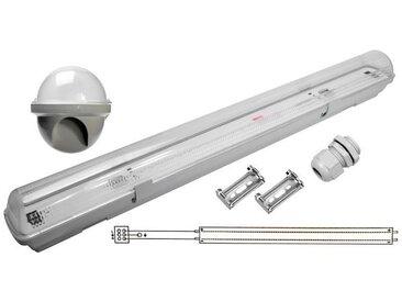 Réglette LED étanche pour 1 Tube lumineuse LED T8 60cm IP65