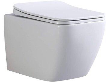 CUBE WC suspendu avec abattant