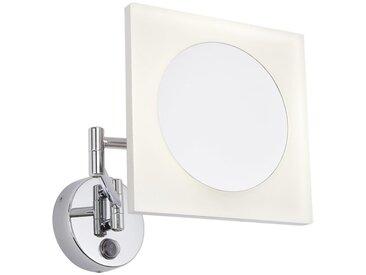Hudson Reed - Miroir Grossisant Lumineux - Design Carré Ladoga 20 x 20CM