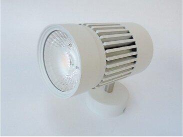 Projecteur LED 45W sur patère blanc orientable 155X154mmmm 4000K 4200lm 230V non-dimmable 38° IP20 RAFALE TRAJECTOIRE 004666