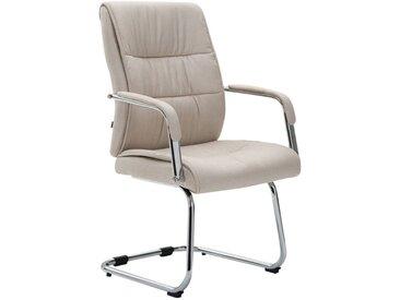 Chaise cantilever Sievert tissu beige