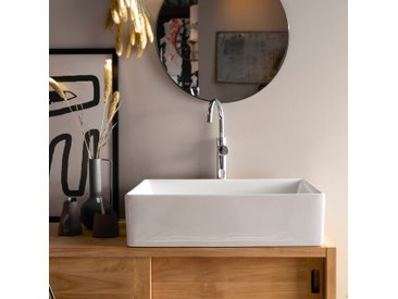 Vasque de salle de bain en céramique Ema